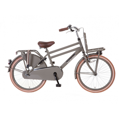 Transportfiets Heren Daily Dutch Basic 22 inch 50CM Grijs