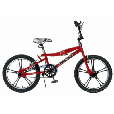 Crossfiets Popal 20 inch 31CM Rood