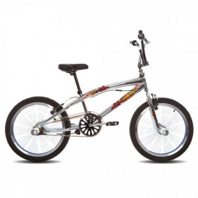BMX/Crossfiets Troy Freestyler 20 inch Grijs