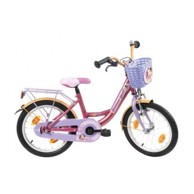 Meisjesfiets Bike Fun Glamour Girl Fuchsia-Lila-Oranje
