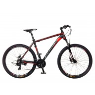 "Mountainbike Kiyoko 27MX5 Popal 27"" Rood"