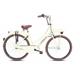 Damesfiets Vogue Transporter 28 inch 57CM Wit