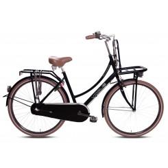 Damesfiets Vogue Transporter 28 inch 50CM Mat-Zwart