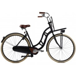 Damesfiets Vogue Lifter 3sp 28 inch 53CM Zwart