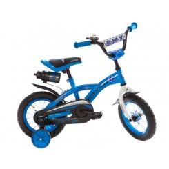 Kinderfiets Troy  Policeboy 12 inch 30CM Blauw