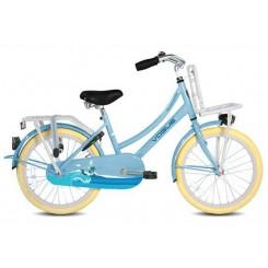 Meisjesfiets Vogue Transporter 20 inch 34CM Baby-Blauw
