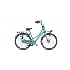 Damesfiets Vogue Elite Plus Lady-57 7-sp Allu Rollerbrake 28 inch 57cm MInt-Groen