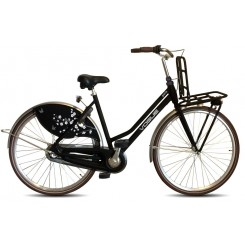 Damesfiets Vogue Paris 3sp 28 inch 50cm Zwart