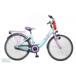 BIKE FUN GIRLS FUN(26MW130) DR + 2 HANDR TURQ. PAARS