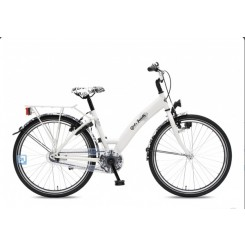 BIKE FUN GIRLS FUN (26MW150) DR+ 2 HANDR WIT ZWART