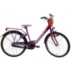 BIKE FUN GIRLS FUN (26MW120) DR PURPER ROZE