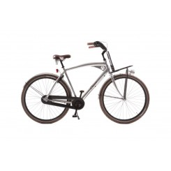 Herenfiets Avalon F619 Cruzz H CM3 28 inch Chrome