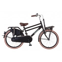 Damesfiets Daily Dutch Season 22 inch Zwart