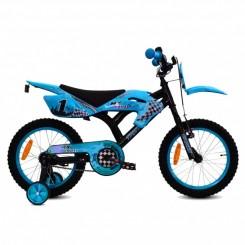 Jongensfiets Troy MX Cross 12 inch Blauw