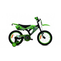Jongensfiets Troy MX Cross 16 inch Groen