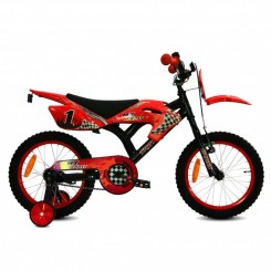 Jongensfiets Troy MX Cross 16 inch Rood