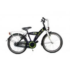 Jongensfiets Bike Fun Jump 4 Fun 18 inch Zwart-Groen