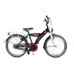 Jongensfiets Bike Fun Jump 4 Fun 18 inch Zwart-Wit