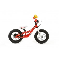 Kinderfiets Jogger Popal 12 inch Rood