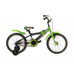 Kinderfiets Bike 2 Fly 16 Popal 16 inch Groen