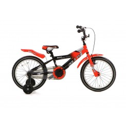Kinderfiets Bike 2 Fly 16 Popal 16 inch Rood