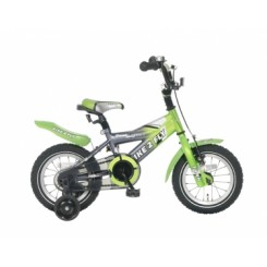 Kinderfiets Popal 12 inch Groen