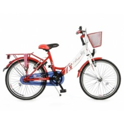 Kinderfiets Popal 20 inch Rood