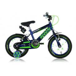 Jongensfiets Ralleigh Striker 14  inch Blauw-Groen