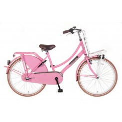 Meisjesfiets Popal Daily Dutch Basic+ 24 Transporter 24 inch Roze