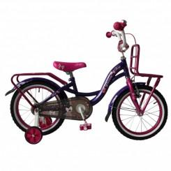 Meisjesfiets Troy Dream 12 inch Paars-Roze