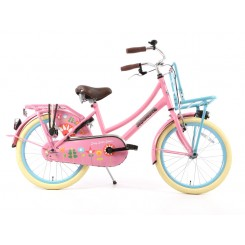 Kinderfiets Popal Daily Dutch Basic Transporter 20 inch Bloom-Roze