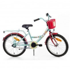 BIKE FUN POPPY 18 MINT ROOD