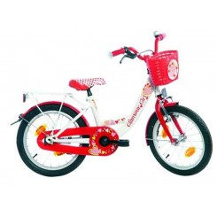 BIKE FUN POPPY 18 WIT ROOD