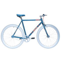 Herenfiets Troy Speed 28 inch 53CM Blauw