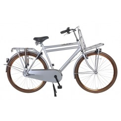 Transportfiets Heren Daily Dutch Basic+ 28 inch 57CM Grijs