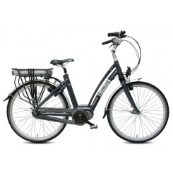 VOGUE  E-BIKE CITY BAFANG MAGURA 8SP BLAUW