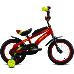 Kinderfiets Troy Racer 12 inch 22CM Rood