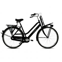 Vogue Dolphin 28 inch 3-Speed Mat-Zwart